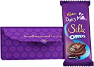 Cadbury Diwali Shagun Envelope with Silk Oreo Chocolate Bar, 130g