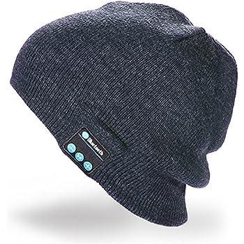 Cappello Bluetooth Bluetooth Music Hat Inverno Berretto lavorato a maglia  Berretto per corsa Sport all  a6390e6927a4