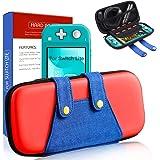Haobuy Funda para Switch Lite, [Color-Clash Look][Estuche Protección] Mario Funda de Viaje Portátil Transportar para Switch L