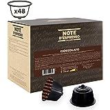 Note D'Espresso - Cápsulas de chocolate Exclusivamente Compatibles con cafeteras de cápsulas Nescafé* y Dolce Gusto* 14g (ca