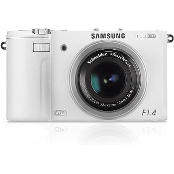 Samsung EX2F Digitalkamera (12,4 Megapixel, 3-fach opt. Zoom, 7,6 cm (3 Zoll) AMOLED-Display, HDMI, WiFi, USB 2.0) weiß