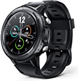 Arbily Smartwatch Hombre, Reloj Inteligente con Pantalla Tátil Completa, Reloj Deportivo Impermeable IP68, Reloj Digital Fitn