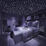 265 Wandsticker / Leuchtpunkte fluoreszierend und im Dunkeln ...