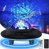 Projecteur Ciel Étoile, Veilleuse Étoile 41 Modes Lampe Projecteur LED Étoile, 20 Couleurs Veilleuses Télécommandées, Lecteur