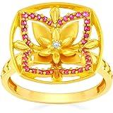 Malabar Gold and Diamonds Women's Ring, M 1/2, 22ct Yellow Gold