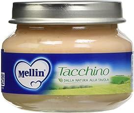 Mellin Omogeneizzato Tacchino - 12 Vasetti da 80 gr