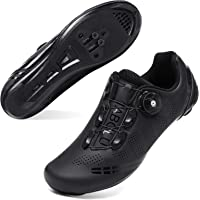 JOINFREE Men Women Cycling Shoes Road SPD Bike Cycling Shoes Spin Shoestring Compatible with Peloton/Look Delta Pedals…