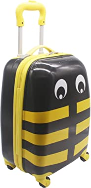 HONEY BEE KIDS TROLLEY FOR SCHOOL AND TRAVEL FOR BOY - YELLOW AND BLACK -16INCH