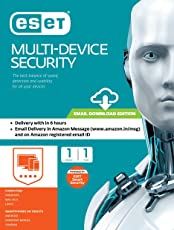 Eset Multi-Device Total Security - 1 User, 1 Year (Email Delivery in 2 hours- No CD)