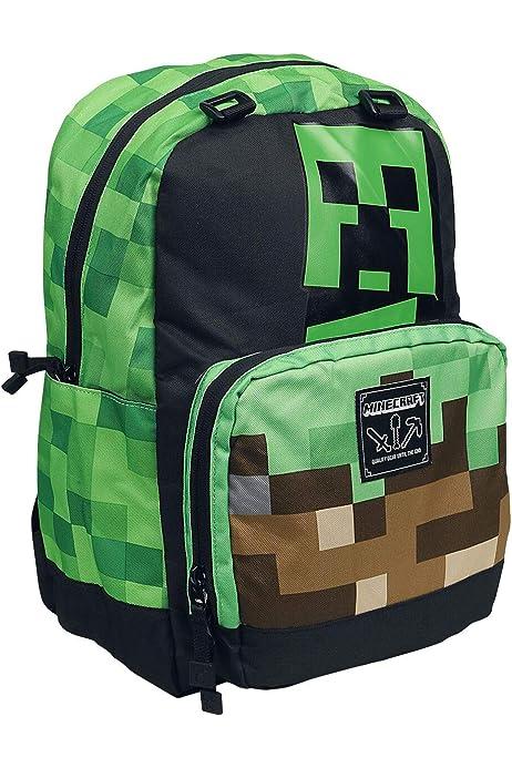 Minecraft Creeper Mochila: Amazon.es: Ropa y accesorios
