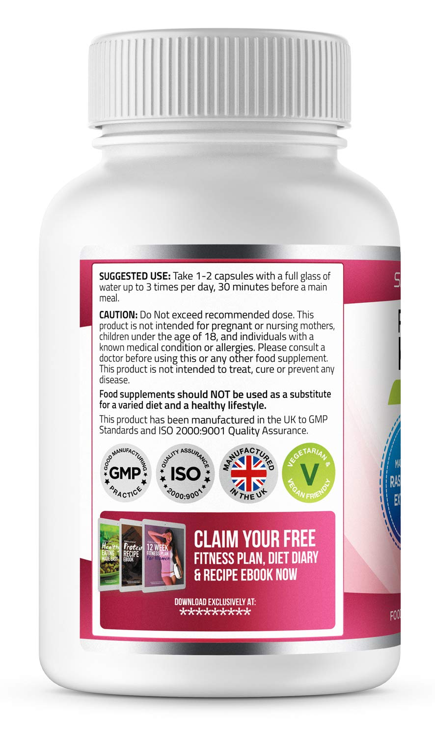 Slimzest Raspberry Ketone Pure Uk Manufactured Diet Pills Vegetarian Vegan Friendly Slimming Pills Top Selling Raspberry Ketone Diet Pills