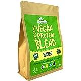 BodyMe Miscela Di Proteine Vegane Bio In Polvere | Naked Naturali | 1kg | Senza Zucchero | Carbo Basso | Senza Glutine | 24g