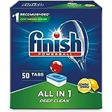 Finish All-in-1 Tabletki do zmywarki cytrynowe 50 szt.