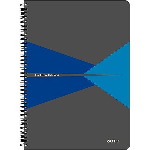 LEITZ OFFICE Blocco in cartoncino - F.to A4 - Quadretti - Blu - 46470035