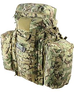 Pockets Full Size British Military Army Combat Rucksack Bergen 120L BTP Pack