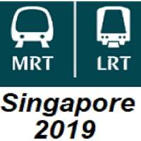 Singapore MRT (Metro) Map 2019