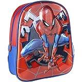Cerdá, Mochila Infantil 1-5 Años de Spiderman con Licencia Oficial de Marvel Studios-Medidas 25 x 31 x 10 cm Unisex niños, Mu