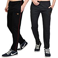 White Moon Men's Stylish Slim Fit Cotton Jogger Lower Track Pants for Gym, Running, Athletic, Casual Wear Combo Pack of…