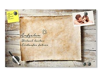 Graz Design® Glas Magnettafel Wandtafel Magnetwand für Küche ...