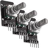 AZDelivery 3 x KY-040 Modulo Codificador Giratorio de Angulo compatible con Arduino con E-Book incluido!