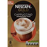Nescafe Gold Cappuccino Unsweetened Coffee, 100 g