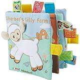 Il mio primo libro morbido, non tossico del bambino del tessuto libro giocattolo educativo Learning per Toddler neonati e bam