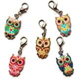 Wise Owl Stitch Marker Set