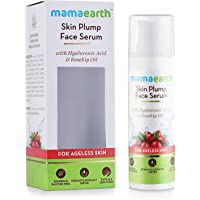 Mamaearth Skin Plump Face Serum Anti Aging Cream For Glowing Skin, With Hyaluronic Acid & Rosehip Oil for Ageless Skin…