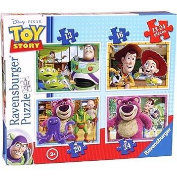 Ravensburger - 4 puzzles Toy Story3 dans une boîte
