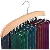 VASTRA Single Wooden Tie Hanger Organiser Rack Holds 24 Ties Great Gift Idea!