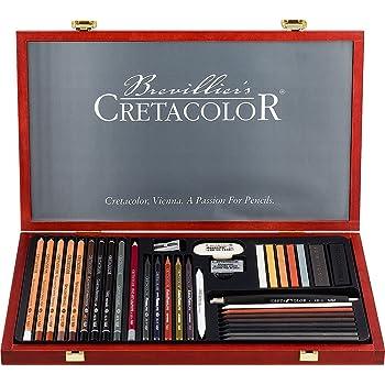CRETACOLOR Kit d artistes Ultimo noir  Amazon.fr  Fournitures de bureau 4c6c081d205b