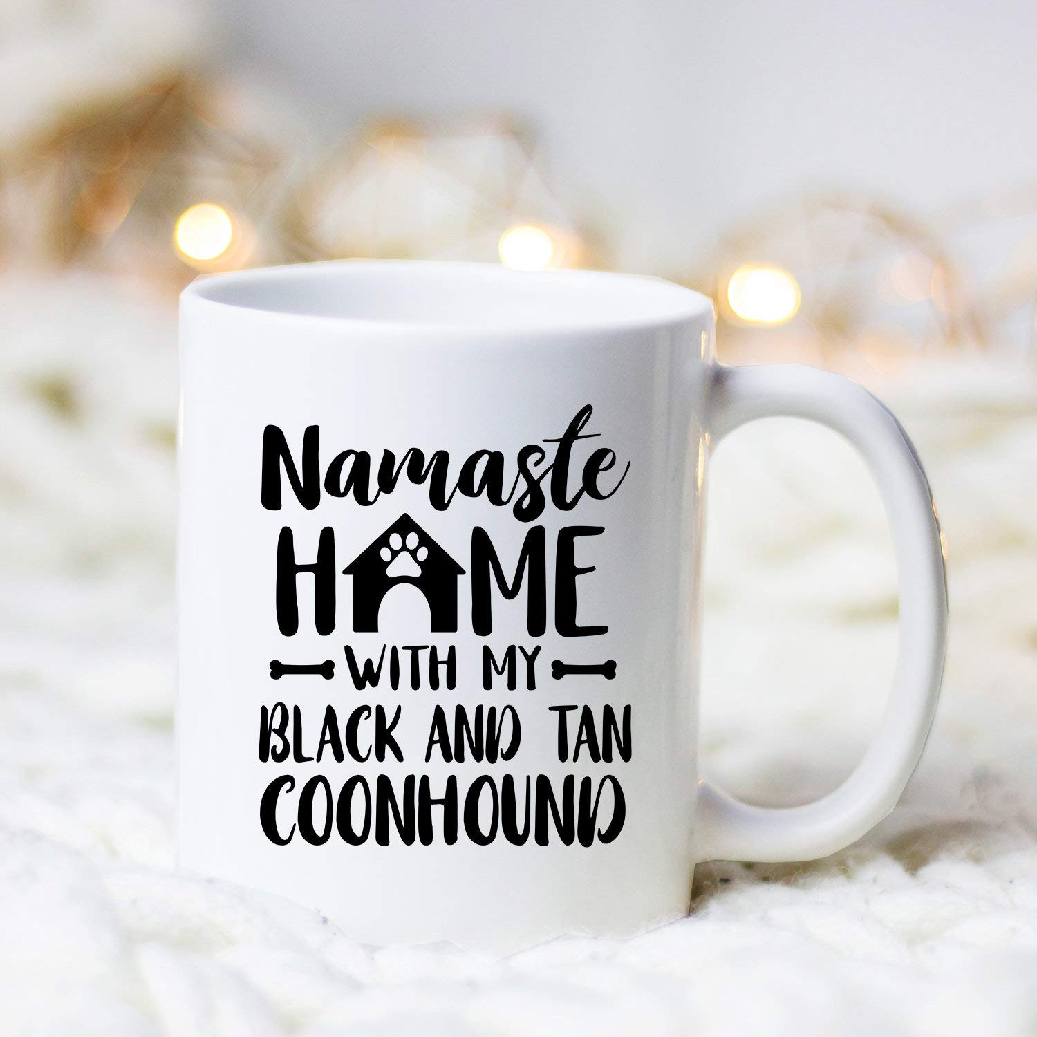 Namaste Home Black and Tan Coonhounds Mug Black and Tan Coonhound Gift Black Tan Coonhound Coonhound Gift Coonhound…