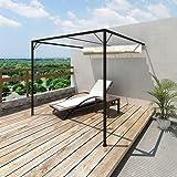 NAO - Pérgola para toldo retráctil Impermeable (3, 5 x 3, 5 m): Amazon.es: Jardín