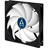 ARCTIC F14 - 140 mm, Ventilateur Haute Performance, Ventilateur Boitier, Refroidisseur Silencieux pour Unité Centrale, Roulem