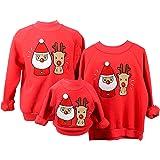 Sudaderas Navideñas Familiares Sudadera Navidad Hombre Mujer Niña Niño Jersey Suéter Navideño Sudadera Navideña Familia Jersé