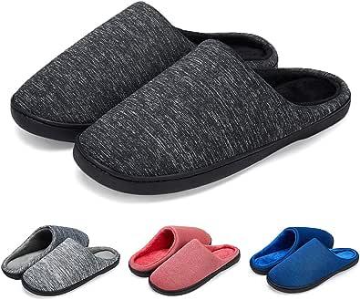 LK LEKUNI Pantofole Donna Uomo Morbido Caldo Morbido e Confortevole Antiscivolo Feltro Inverno Home Scarp