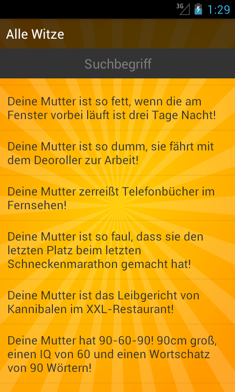 Deine Mutter Sprüche: Amazon.de: Apps für Android