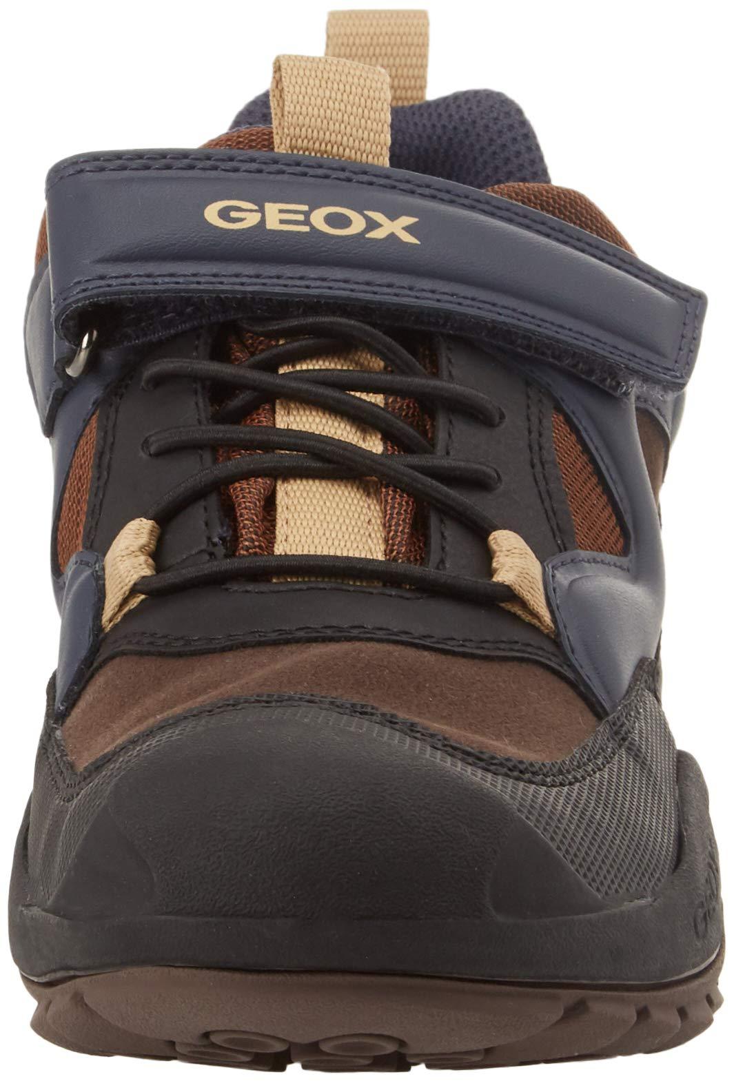 Geox J New Savage Boy B A, Zapatillas Niños