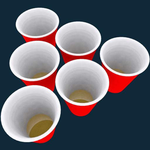 Six Cups: Ultimate Beer Pong Matt Cup