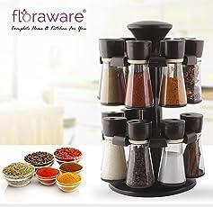 Floraware 16-Jar Revolving Spice Rack