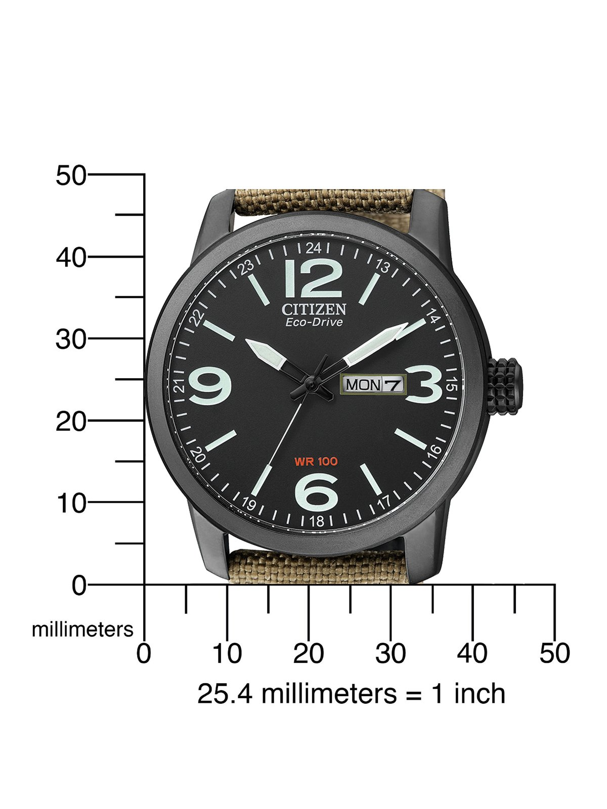 Citizen de hombre reloj de pulsera Elegance analógico de cuarzo, Eco Drive (Talla Única, Negro) 4