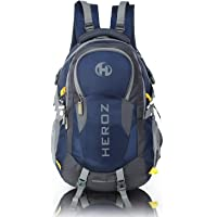 HEROZ Hammer Unisex Nylon 45 L Travel Laptop Backpack Water Resistant Slim Durable Fits Up to 17.3 Inch Laptop Notebook…