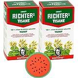 ✅ Tisane Ernst Richter spécial Transit   Plusieurs conditionnements   Lot de 2 boîtes de 20 infusions + en cadeau : sous-tass