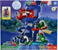 Pj Masks Team Headquarter Toy Playset with Cat Boy Figure Included for Kids, Boys and Girls, Age 3 Years and Above