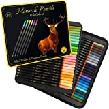 Black Widow Monarch Colored Pencils For Adults - 48 Coloring Pencils With Smooth Pigments - Best Color Pencil Set For Adult C
