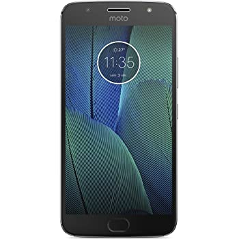 "Motorola Moto G5s Plus - Smartphone de 5.5"" (4G, WiFi, Bluetooth 4.2, Qualcomm Octacore MSM8953 2.0 GHz, 32 GB de Memoria Interna, 3 GB de RAM, cámara Dual de 13 MP, Android, 32GB) Color Gris"