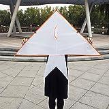 SSYY Design Your Own Kites - New White Blank DIY Painting Kite with Pigment Kit Kids Adult Easy Flying Kite