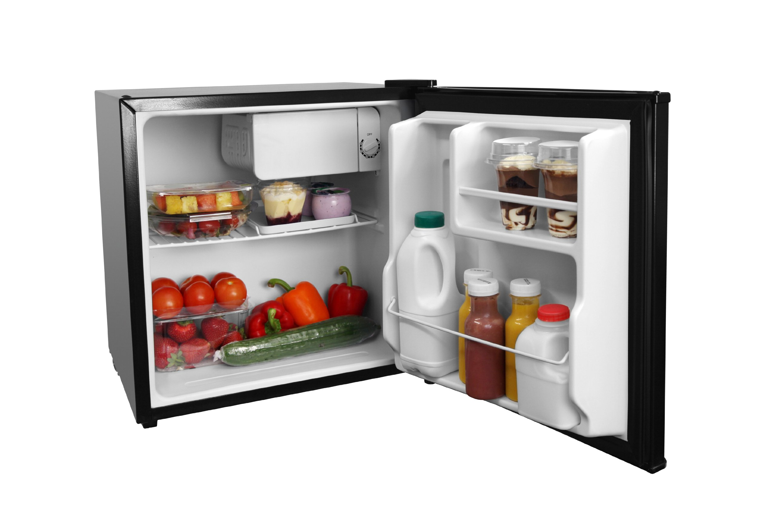 71JIDAL786L - Russell Hobbs RHTTLF1B 43L Table Top A+ Energy Rating Fridge Black