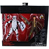 "Star Wars Black Series 6"" Poe Dameron and First Order Riot Control Stormtrooper 2 Pack Figure"