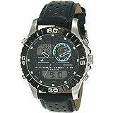 Fastrack Analog-Digital Grey Dial Men's Watch NL38035SL02/NN38035SL02
